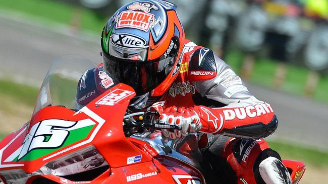 Baiocco wild card a Misano su una Ducati EVO
