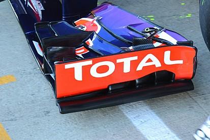 Red Bull: cambiata l'ala anteriore bocciata in Austria