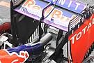 La Red Bull assotiglia il mono pilone dell'ala