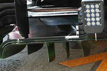 Ferrari: diverse derive nel diffusore posteriore
