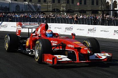 Marc Gené e la F60 regalano spettacolo a Mosca