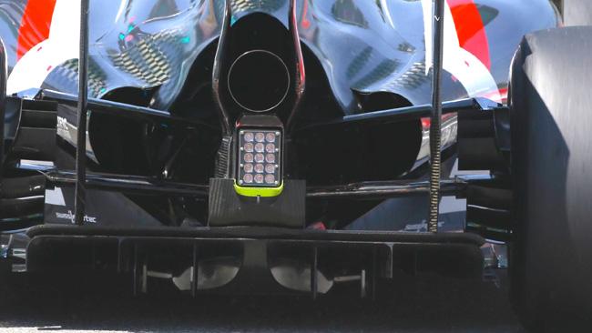 Sauber: restano gli sfoghi dell'aria maggiorati