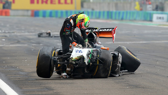 Prima gara senza punti per la Force India
