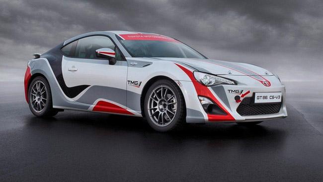 In Germania si vedrà in azione la Toyota GT86 CS-R3
