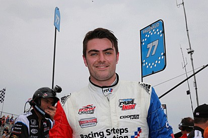 Jack Harvey in pole in Mid-Ohio