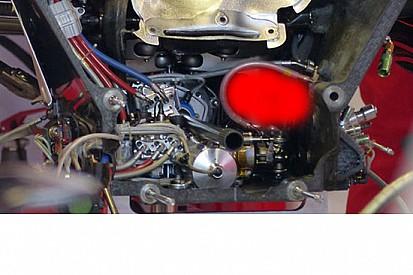 Esclusiva Ferrari: anche la MGU-K entra nel cambio!