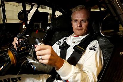 Kovalainen si è divertito nel test con la BMW M4 DTM