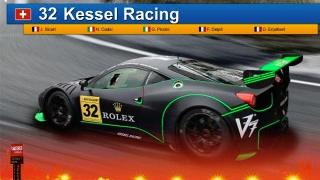 Kessel Racing al via della 24 Ore di Barcellona