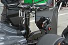Ecco l'ala posteriore scarica della Sauber C33