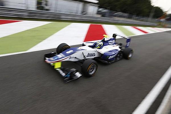 Eriksson svetta nelle Qualifiche di Monza