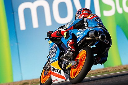Alex Rins firma la pole position ad Aragon
