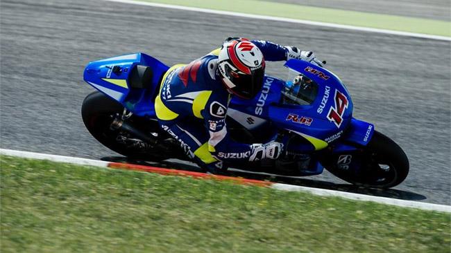Suzuki: test ad Aragon con la testa a Valencia