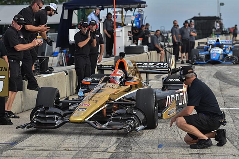 James Hinchcliffe makes IndyCar return in Road America test