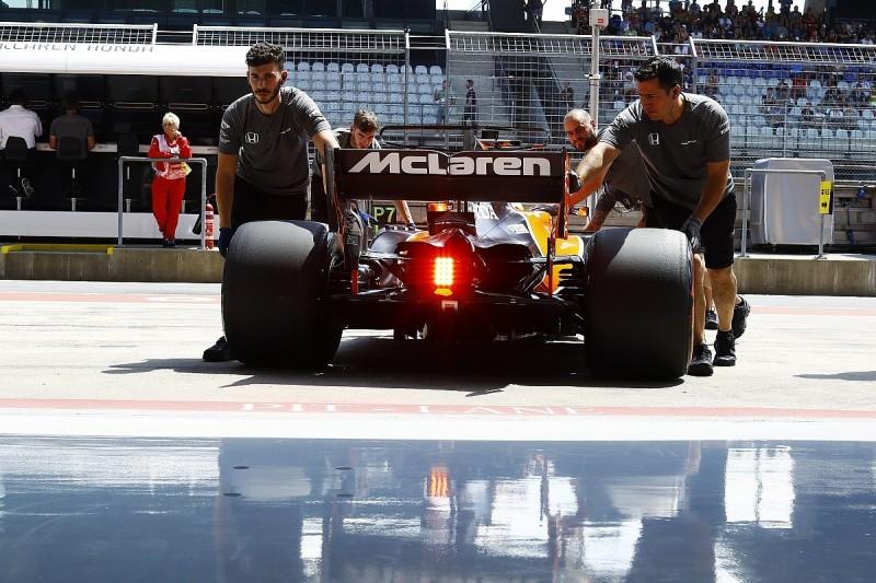 Fernando Alonso has to revert to old-spec Honda for Austrian GP