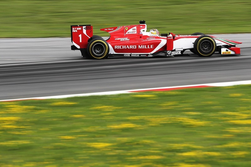 Red Bull Ring F2: Leclerc leads practice from Prema team-mate Fuoco