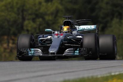 Austrian Grand Prix F1 practice: Lewis Hamilton fastest on Friday