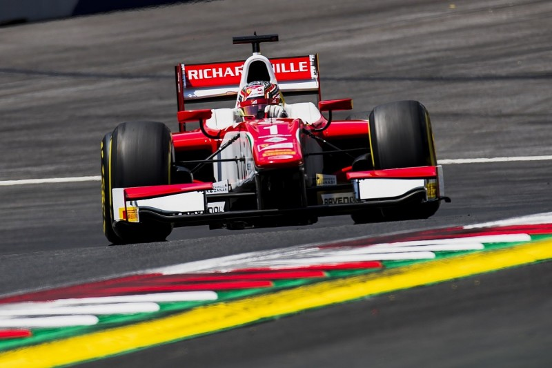 Red Bull Ring F2: Leclerc maintains his perfect qualifying pole run