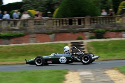 Capactiy entry of 200 cars registered for Chateau Impney hillclimb