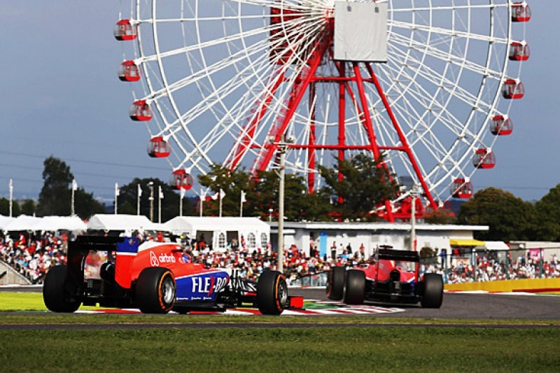 Manor F1 team glad Japanese GP is over amid Jules Bianchi memories