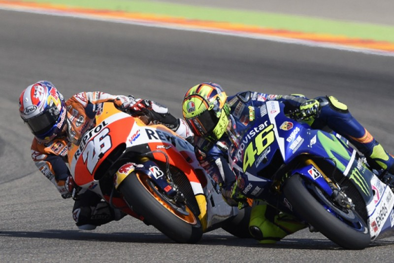 Winning Aragon fight with Rossi a MotoGP highlight, says Pedrosa