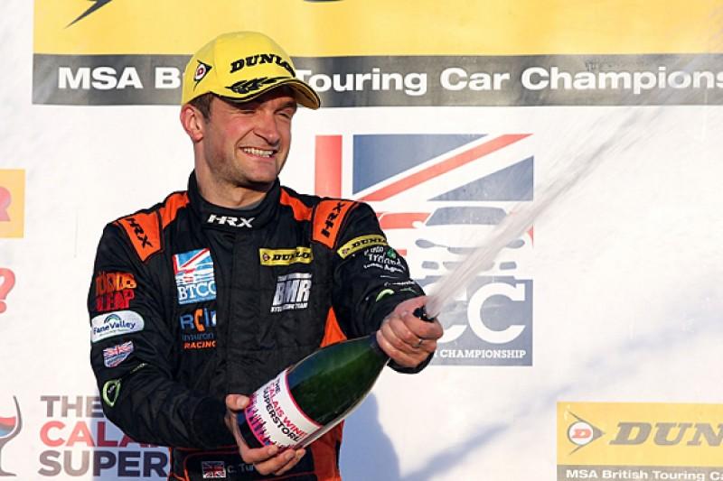 Silverstone BTCC: BMR's Colin Turkington wins to boost title bid