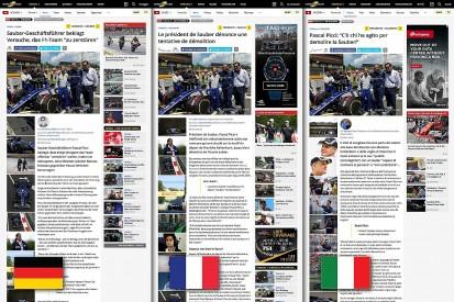 Motorsport.com launches Swiss version in three languages