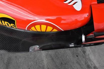 Ferrari alters its F1 floor to increase rigidity
