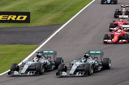 Nico Rosberg was down on power for Japanese GP F1 start
