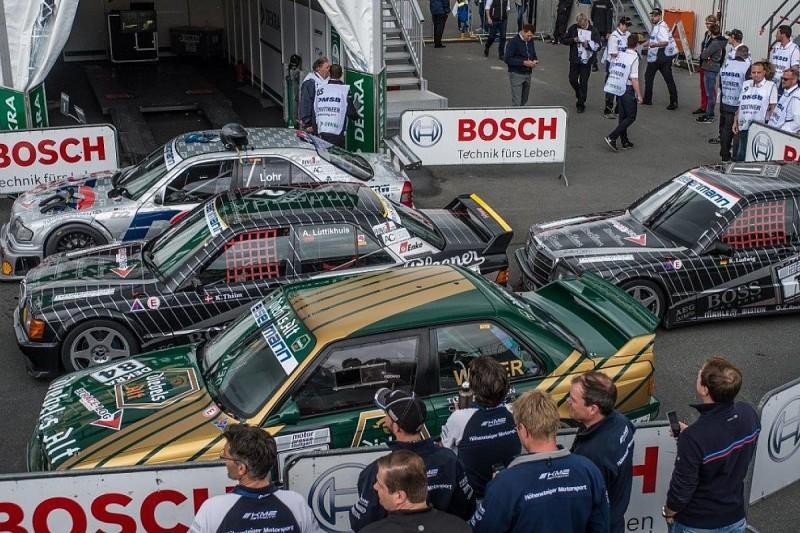 Ex-Ellen Lohr Mercedes wins as classic DTM cars return to Norisring