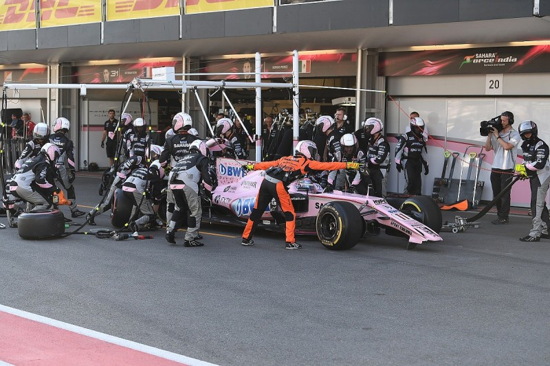 Perez tells Force India F1 team-mate Ocon to 'be intelligent'