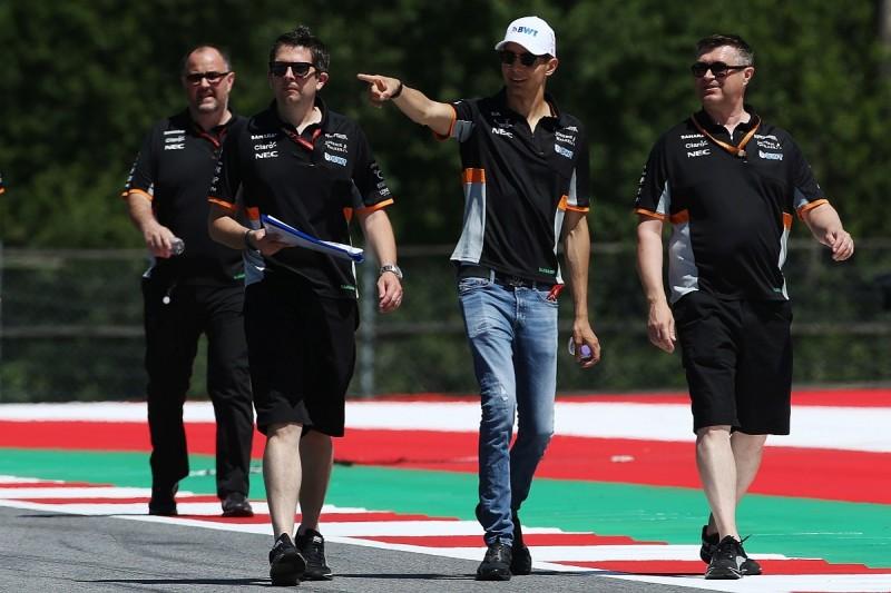 Force India said Baku collision with Perez was 50/50 - Ocon