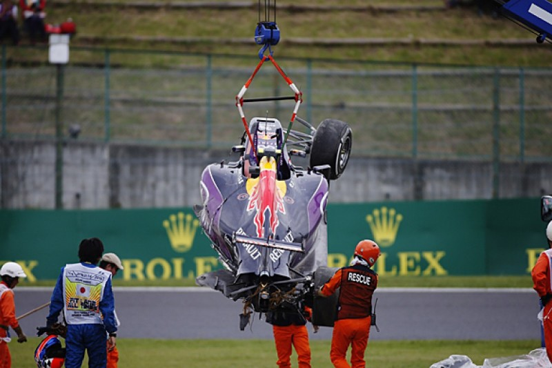 Red Bull changes engine and rebuilds chassis after heavy Kvyat crash