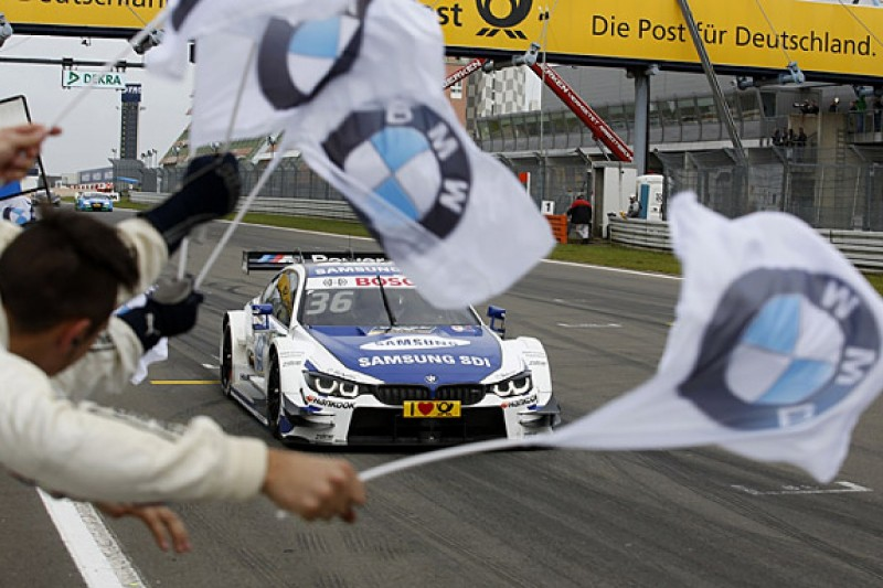 DTM Nurburgring: BMW's Martin wins after clash with Wehrlein