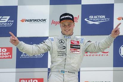 Nurburgring F3: Felix Rosenqvist wins again in race two