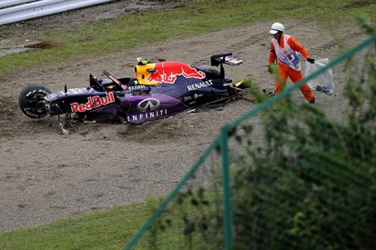 Japanese F1 GP: Red Bull's Kvyat to start from pitlane after crash