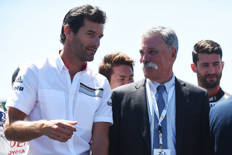 Webber wants end to Formula 1 grid penalties for component changes