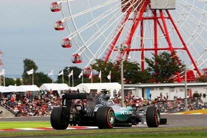 Japanese GP: Lewis Hamilton 'not comfortable' at Suzuka F1 track