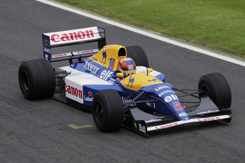 Nigel Mansell's 1992 Williams FW14B to run at Silverstone Classic