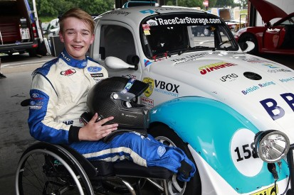 Billy Monger drives a racing car again for first time since crash