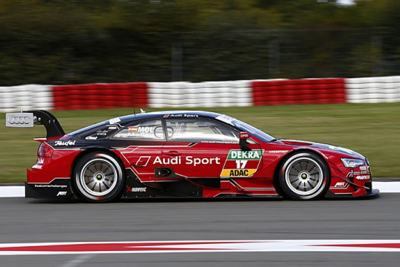 DTM Nurburgring: Miguel Molina edges Paul di Resta in practice