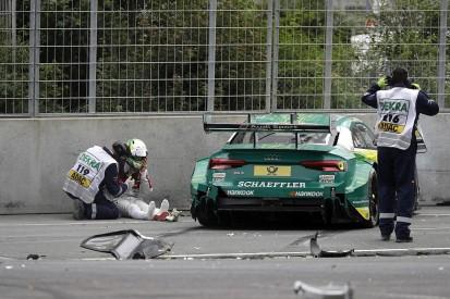Mike Rockenfeller suffers foot injury in Norisring DTM crash