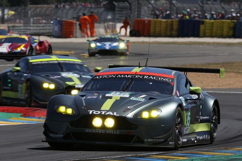 Aston Martin handed break in first use of GTE automatic BoP system