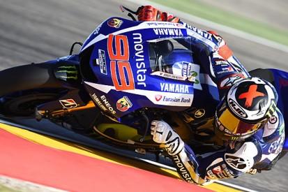 MotoGP Aragon: Jorge Lorenzo fastest from Valentino Rossi in FP2