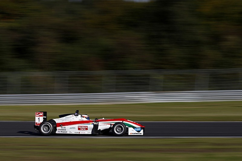 Nurburgring European F3: Rosenqvist pips Russell to race one pole