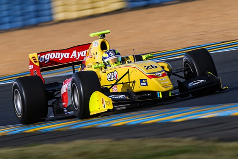 FR3.5 Le Mans: Tom Dillmann fastest in free practice on home soil