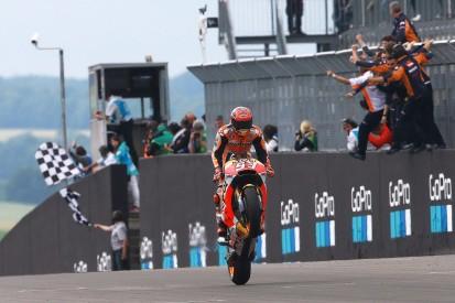 Honda's Marquez didn't expect to lead points into MotoGP break