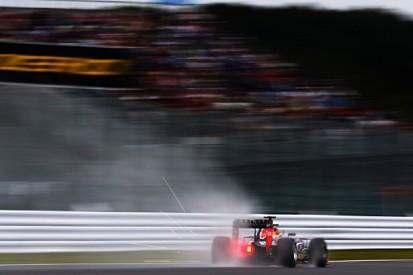 Japanese F1 GP: Daniil Kvyat tops wet Suzuka practice for Red Bull