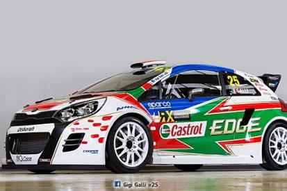 Ex-WRC driver Gigi Galli launches Kia World Rallycross programme