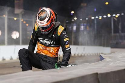 Nico Hulkenberg apologises to Felipe Massa for Singapore F1 crash