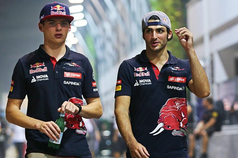Sainz says Toro Rosso F1 team-mate Verstappen likes 'bad boy' role